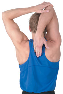 Bicep Hand-Down-the-Spine Stretch