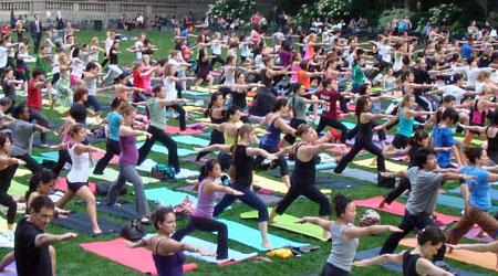 Bryant Park Yoga