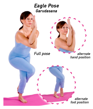 Eagle Pose (Source: YogaOutlet.com)