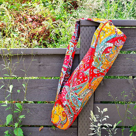 Sari Pattern Yoga Mat Bag