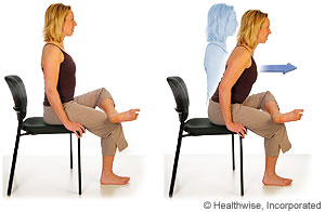 Seated Hip Stretch