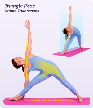 Triangle Pose (Source: YogaOutlet.com)